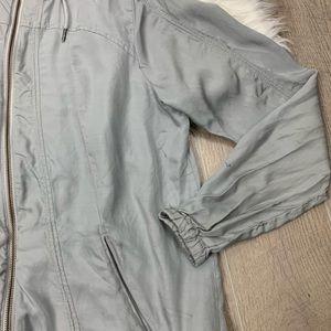 Athleta Jackets & Coats - Athleta   Grey Jacket   2464
